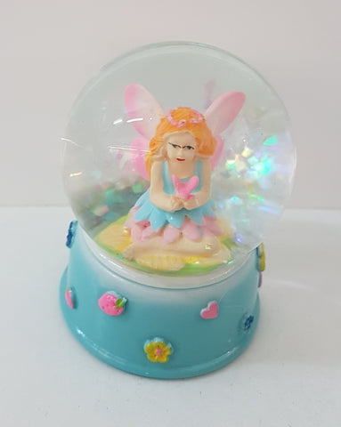 Mini Fairy - Snow Globe Blue