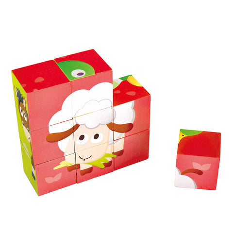 Farm Animal Block Puzzle Hape