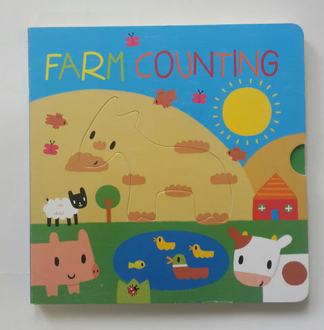 Animal 3D Shapes Farm Counting Book
