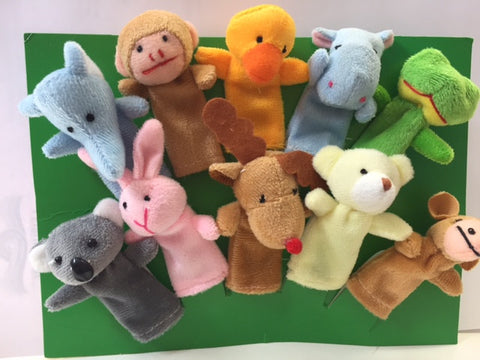 Finger Puppets Set of 10