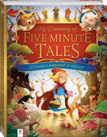 My Treasury of 5-Minute Tales - Book