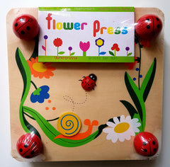 Flower Press wooden