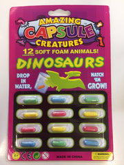 kidz-stuff-online - Capsule Creatures - Growing Pet Dinosaurs
