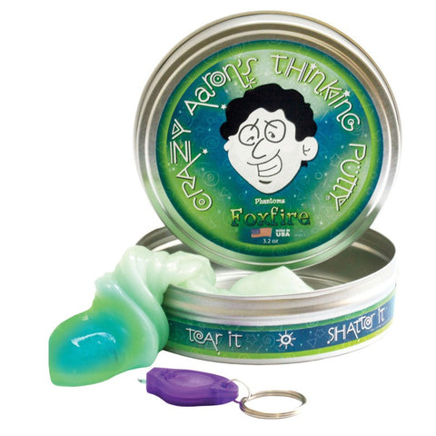Thinking Putty - Foxfire uv active 10 cm tin