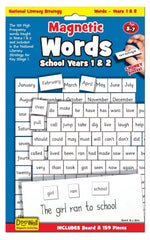 kidz-stuff-online - Magnetic Words Years 1 and 2