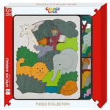 George Luck African Animals  - Hape Wooden Puzzle