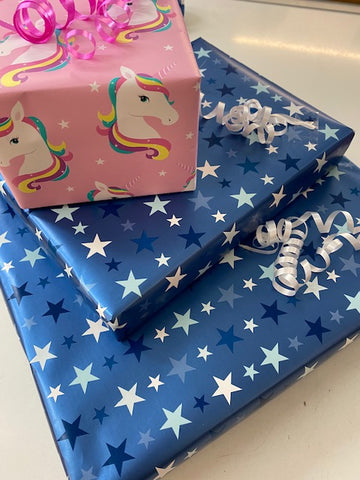 Gift wrap and NO card