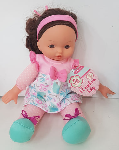 Girl Doll Dark Pink Headband