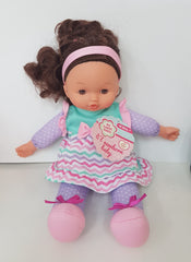 Girl Doll Pink Headband