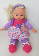 Girl Doll Purple Headband
