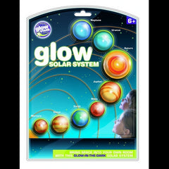 3D Glow in the Dark Planets solar system