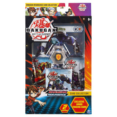 Bakugan Deluxe Battle Brawlers Card Collection with Jumbo Foil Gorthion Ultra Card