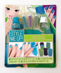 kidz-stuff-online - STYLE ME UP Pearl Nail Art - Turquoise