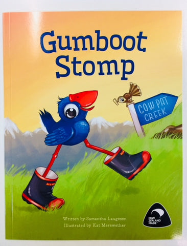 Gumboot Stomp - Book