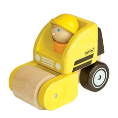 Wooden Handy Road Roller - Pintoy