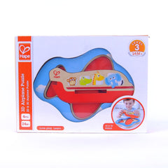 3D Airplane - Hape Wooden Puzzle