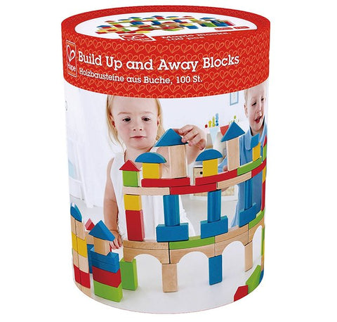 100 Wooden Building Block Set - Hape