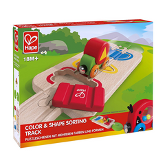 Colour and Shape Sorting Track Hape