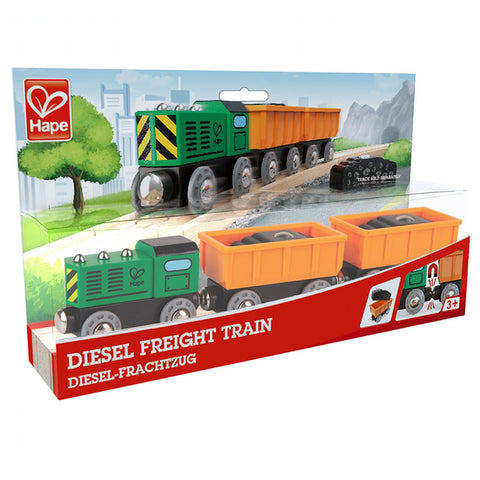 Hape Diesel Freight Train Set