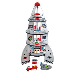 kidz-stuff-online - Rocket Ship Four Stage - Hape
