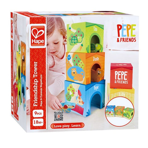 Pepe & Friends Friendship Tower - Hape