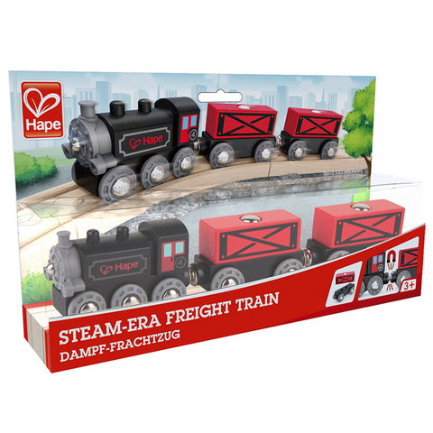Steam-Era Freight Train Hape