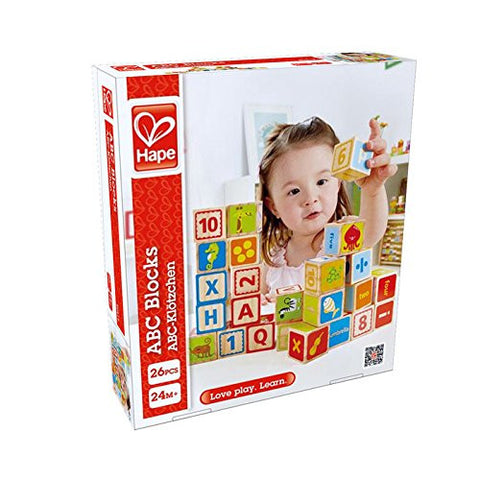 Hape ABC Wooden Blocks