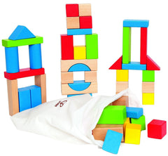 Maple Wooden Blocks - Hape