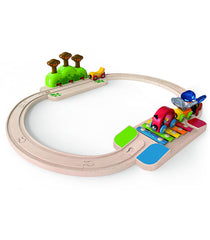 My Little Railway Wooden Set - Hape