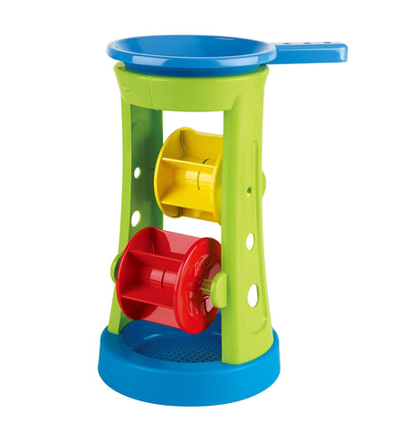 Hape Double Sand and Water Wheel Kid's Beach Toy