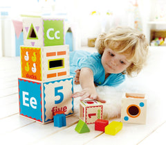 kidz-stuff-online - Pyramid of play by Hape