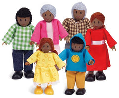 kidz-stuff-online - Hape Happy Family - African American Doll Family