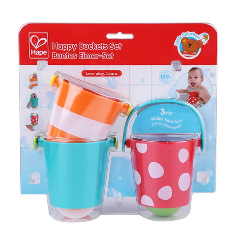 Bath Toy Happy Buckets Hape