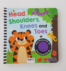 Head, Shoulder, Knees and Toes Book