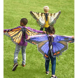 Butterfly wings Purple set
