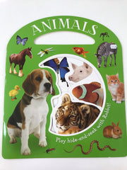 Animals hide-and-seek book