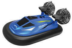 kidz-stuff-online - Racing Swamp Runner - RC Hovercraft Blue