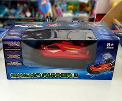 kidz-stuff-online - Racing Swamp Runner - RC Hovercraft Red