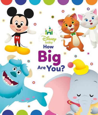 Disney Baby Board Book How Big Are You?