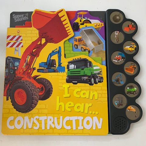I can Hear Construction Sounds Book