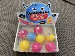 Squishy Ball colour changing