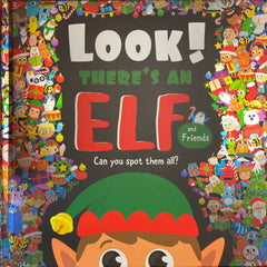 look theres an elf book