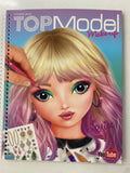 TOP Model Make-up Colouring Book