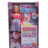 Steffi doll pregnant twins and accessories