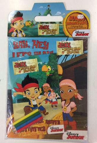 Jake and the Neverland Pirates Activity set