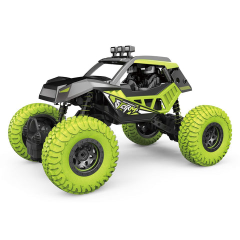 JR King Climber Remote Control Car Green