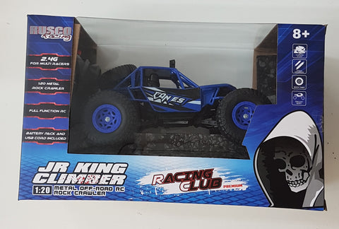 JR King Climber Remote Control Car Blue