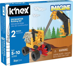 K'NEX Imagine Excavator Building Set