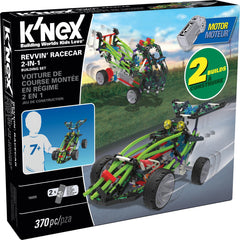 kidz-stuff-online - K'nex Revvin Racecar 2-in-1 Building Set