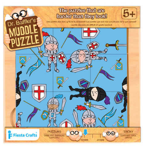 Knight 9 Piece Dr Bafflers Muddle Puzzle